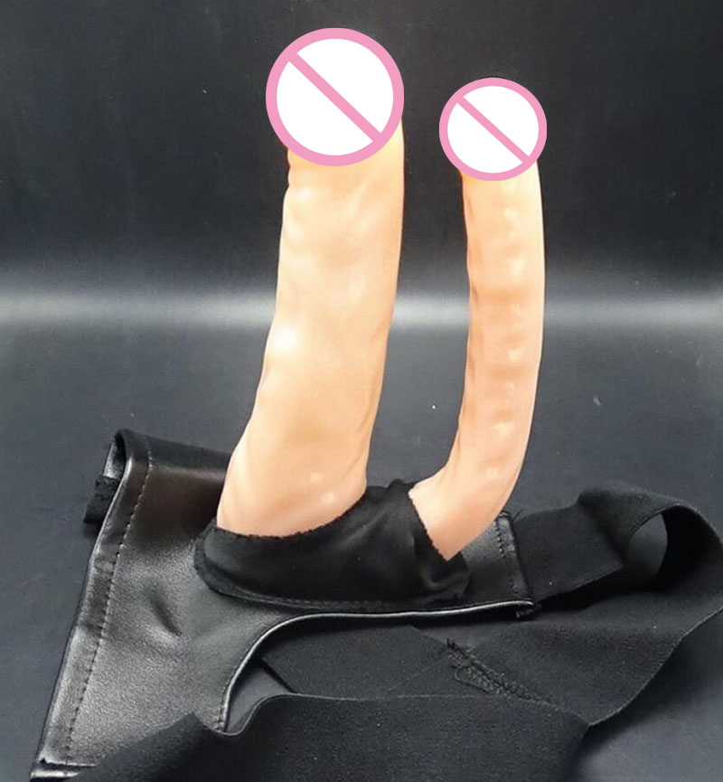 Newest style strapon harness double dildo artificial realistic penis fake cock strap on dildos pants lesbian sex toys for woman sex products dildos lesbian strapon harness inflatable dildo pump penis strap on masturbation sex toys for woman adult toys