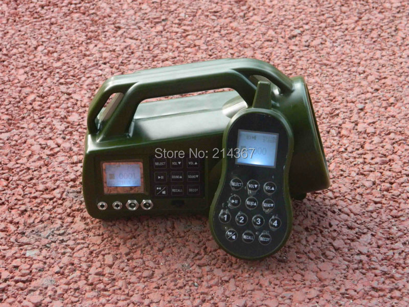 400 different Animal Sounds Birds Caller for Bird Hunting  Birdcaller with Remote Control Game Callers 210 sounds 50w sounds birds caller hunting decoy mp3 player bird hunting trap mp3 with 100 200m remote control