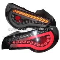 Дым черный GT86 FT86 Светодиодные ленты хвост сзади лампы 2013 2014 год SN