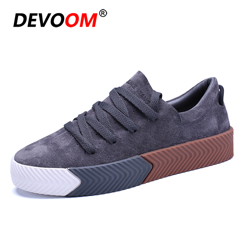 DEVOOM Mens Casual Flats Superstar Shoes Top Quality 2017 New Fashion Shoes For Mens Creepers Canvas Chaussure Homme Rihanna