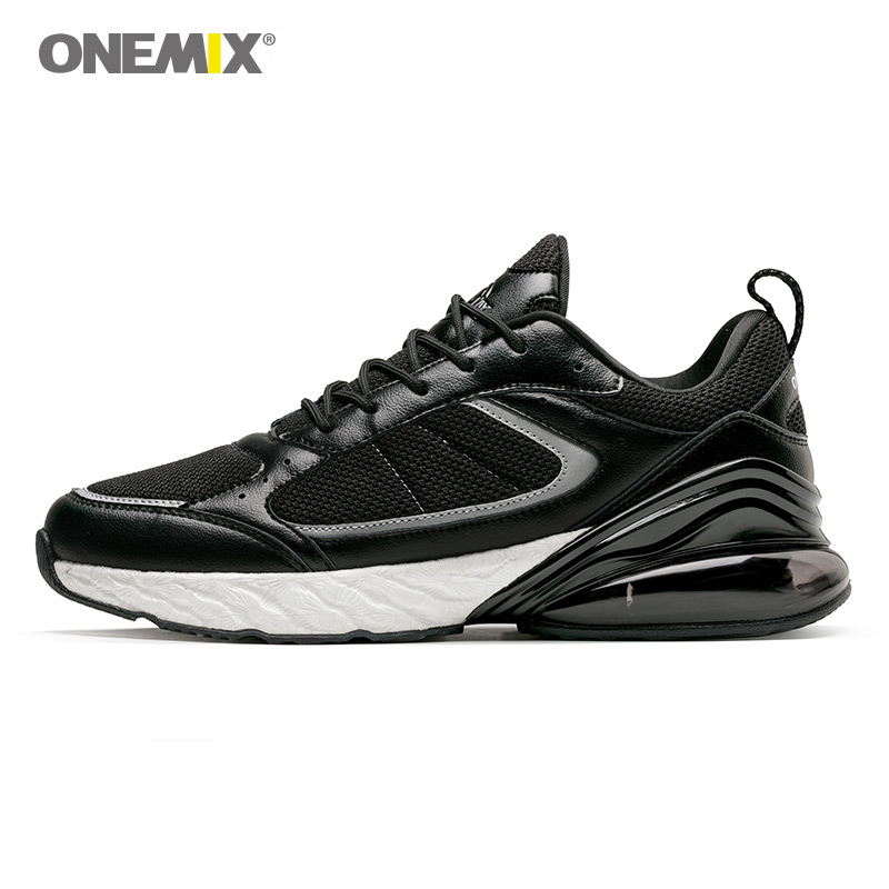 ONEMIX sneakers for men winter autumn running shoes outdoor jogging sneakers shock absorption cushion EVA soft midsole shoes цены