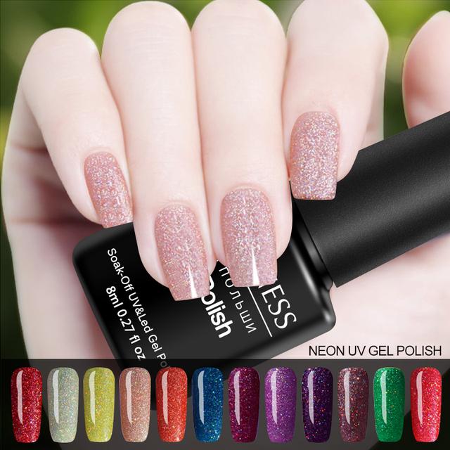 High Quality Shiny Glitter Nail Polish