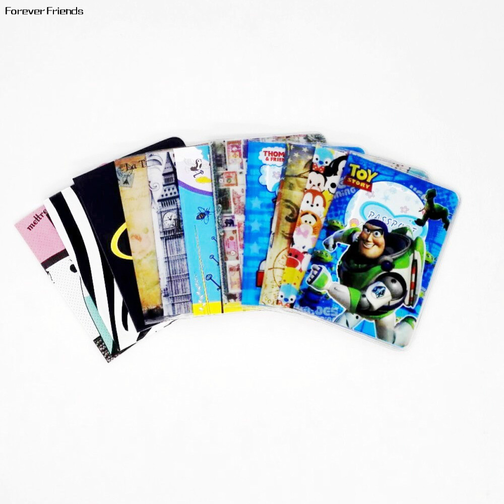 Cartoon spider man Passport Cover ID Credit Card Holder 3D Design PVC Leather Business Card Bag Passport Holder 14*9.6CM 3d cartoon pokemon go pvc leather passport holder cover identity id credit card cover document folder travel ticket 14 9 6cm