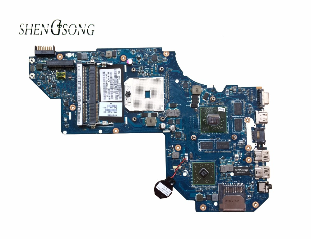 687229-501 Free Shipping QCL51 LA-8712P Laptop Motherboard For Hp pavilion M6 M6-1000 Motherboard Notebook PC 687229-001 7670 2G цены онлайн