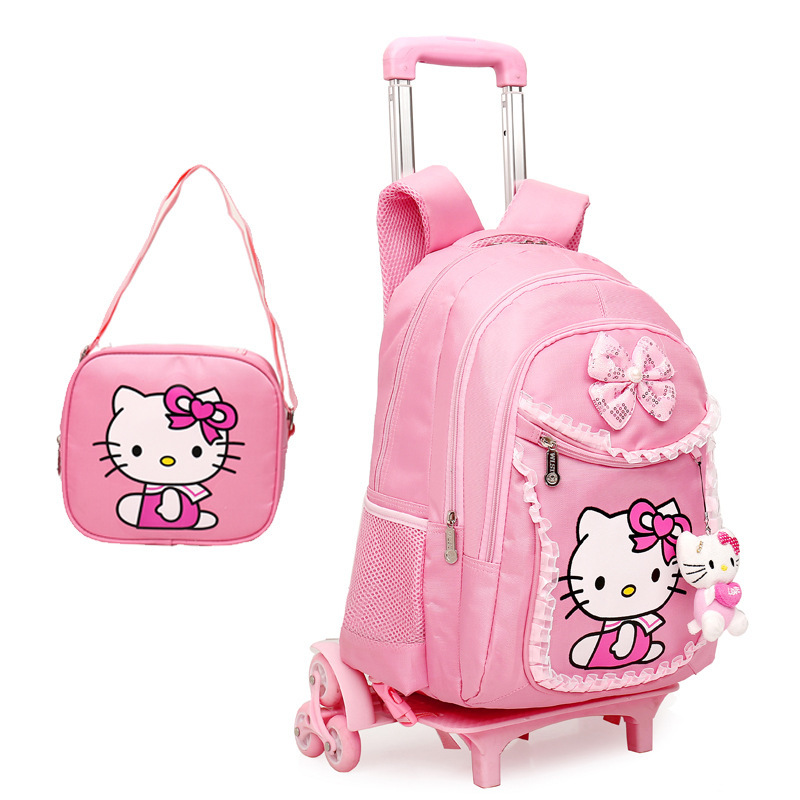 Backpack For Children With Wheels