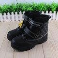 Moda Niños Botas Niños Botas Nuevas de Nieve de Invierno Botas de Los Niños Calientes Resistentes al Frío de Algodón Niños Botas Zapatos de Los Niños