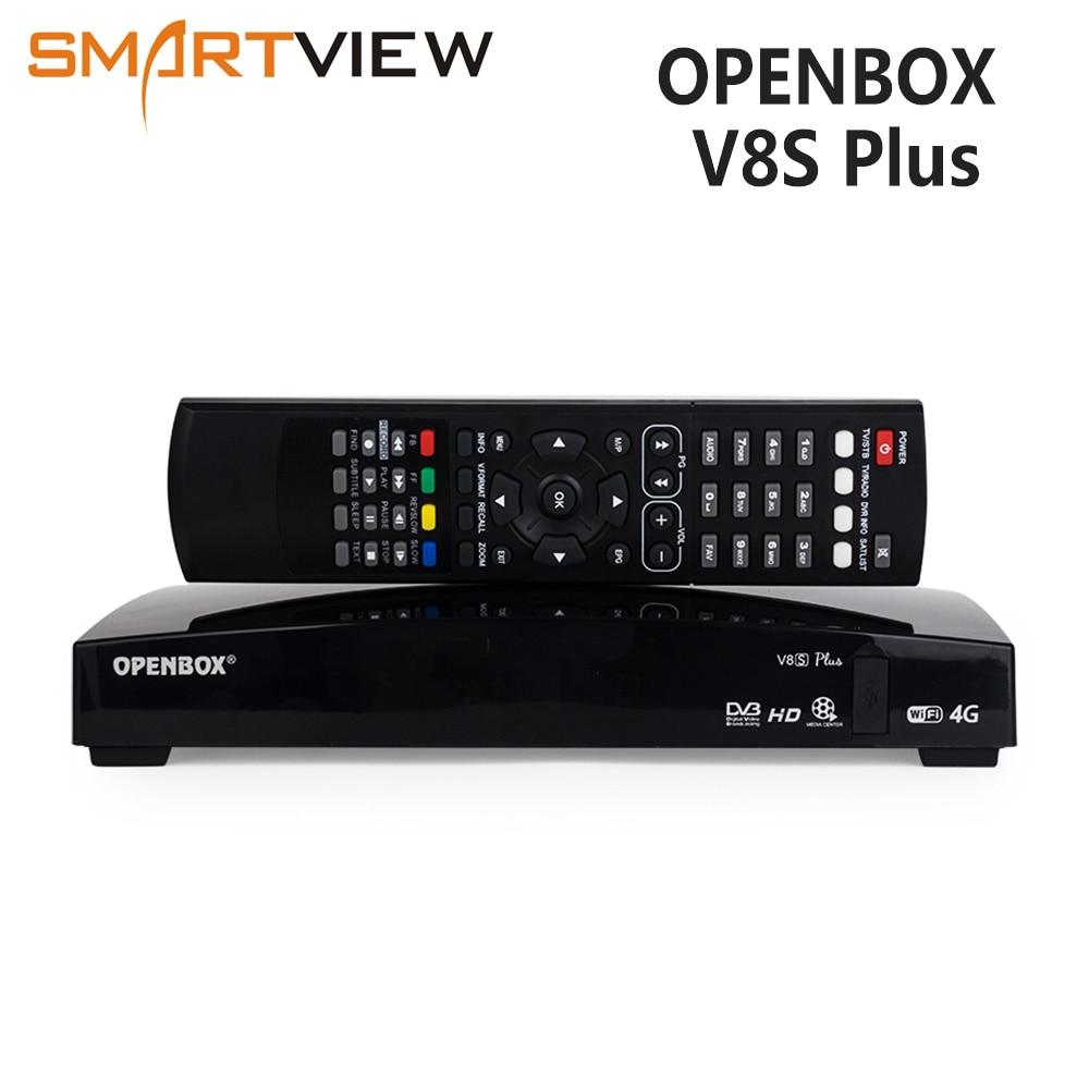 Openbox V8S Più decoder Satellitare DVB-S2 recettore Set top box Digitale di Sostegno della Ricevente Satellite DVB S2 Xtream Youtube Biss Chiave