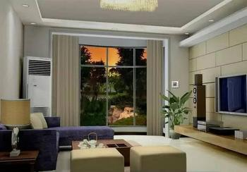 Free shipping Motorized Drapery Smart Home Curtains