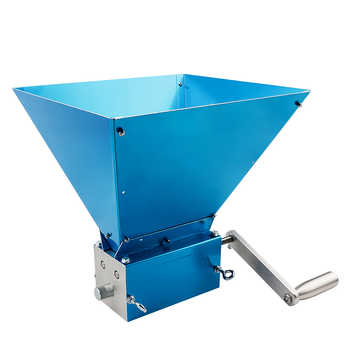 Grain Grinder 2019 Newest 3-Roller Malt Mills for Home Brewing Food Grade Stainless Steel 3 Rollers Mill Powerful Barley Crusher