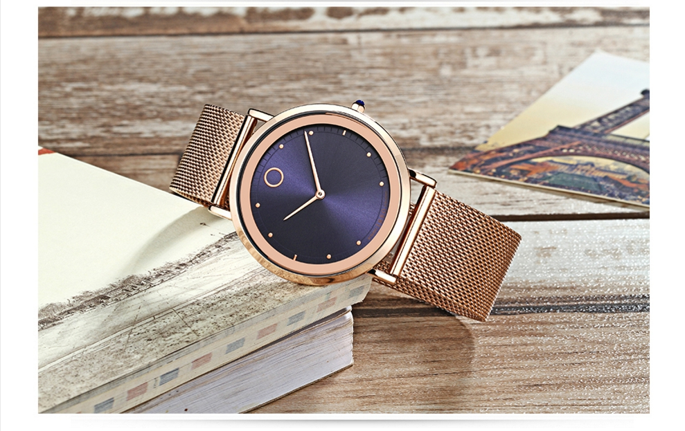 IBSO Fashion Simple Style Ultra Thin Bracelet Watches 4