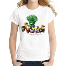 Avengers Minions T-shirt for Women