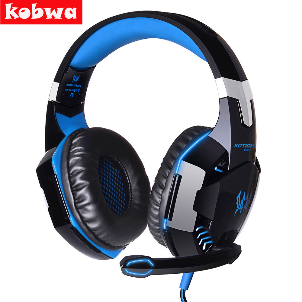 G2000 Professional Gaming Headphone wired Headset surround stereo headset headband headphone with mic for pc laptop Games rock y10 stereo headphone earphone microphone stereo bass wired headset for music computer game with mic