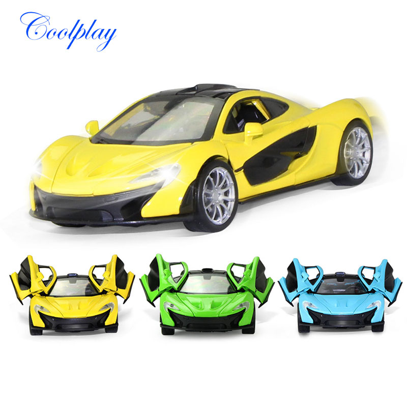 1:32 Scales Mini Diecast Alloy Car Model Flashing & Musical Model Cars Toy Vehicles Educational Collection Toys For Kids )