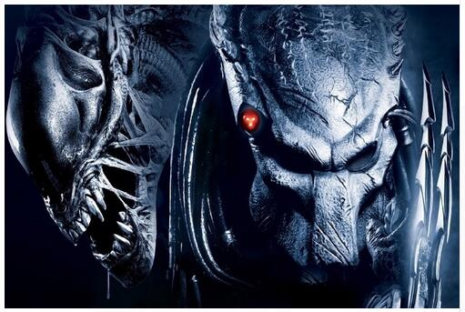 Alien vs. Predator Thriller Movie Art Wall Decor Silk Print Poster image