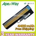 Apexway 11.1 v 4400 mah bateria para lenovo b460 b550 g430 g450 G555 G455 G530 G550 N500 V450 V460 42T2722 42T4577 42T4579 42T4581