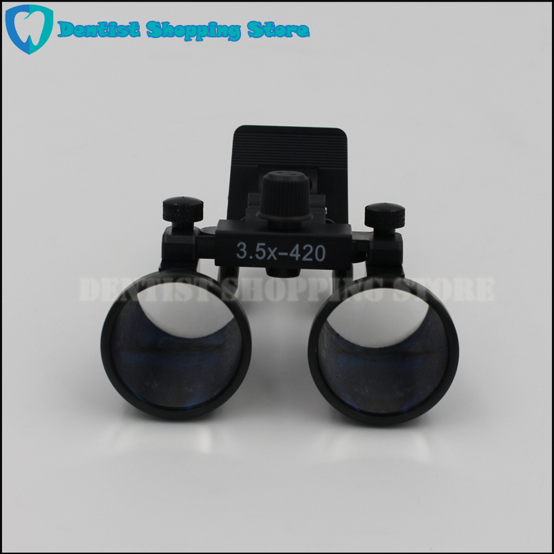 New Clip type Dental Loupes for Medical Galileo Magnifier with Surgical Magnifying Glasses compatible all kinds