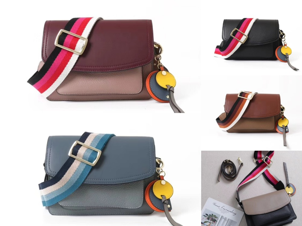 free shipping color leather small square bump broadband female 2018 new head layer cowhide one shoulder his female bagfree shipping color leather small square bump broadband female 2018 new head layer cowhide one shoulder his female bag