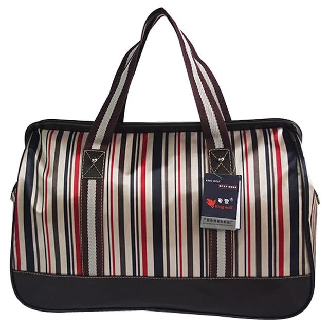 9dea7aaf6eb 2016 New Women Luggage Travel Bags Casual Nylon Waterproof Large Capacity  Short Duffle Bag Handbag Men