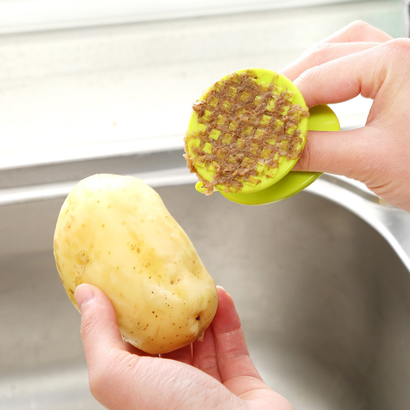 Keelorn Magia Eliminación de Óxido Limpia Cepillo de Cocina/Frutas y Verduras Li