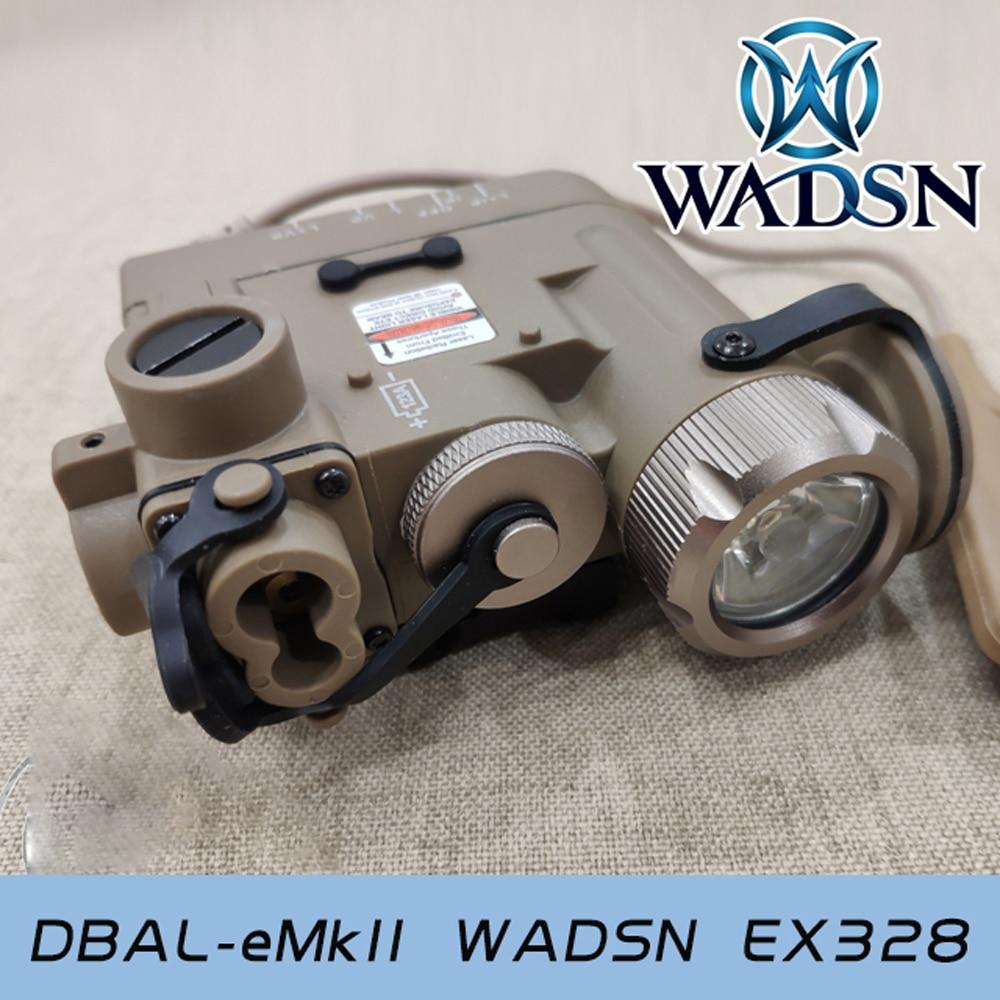 Image 3 - WADSN страйкбол DBAL D2 осветитель многофункциональная подсветка для оружия красная точка ИК лазерный тактический фонарик WEX328 принадлежности для охоты-in Огни для оружия from Спорт и развлечения