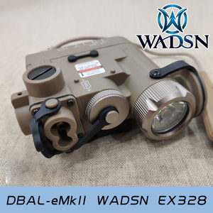 Image 5 - WADSN Tactical Light DBAL IR Red Laser Airsoft Hunting Lamp DBAL EMKII Flashlight DBAL D2 DBAL Weapon Gun Light