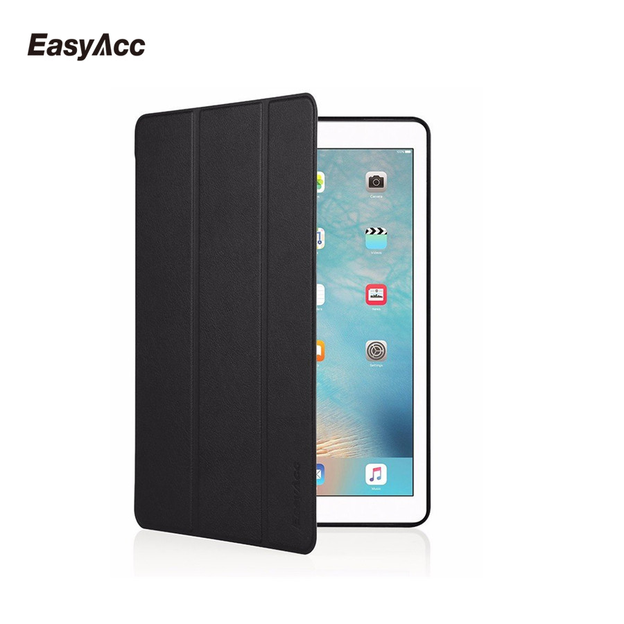 Case for iPad Pro 9.7 inch, Easyacc PU Leather Smart Cover Folio Stand Case Auto Sleep/Wake Function for 9.7 iPad Pro 2016 case for ipad pro 9 7 inch esr pu leather smart cover folio stand case auto sleep wake function for 9 7 ipad pro 2016 release