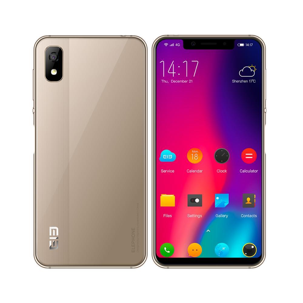 Elephone A4 смартфон 5,85 18:9 Face ID Android 8,1 3 ГБ + 16 Гб MTK6739 четырехъядерный отпечаток пальца 8MP Cam 4G LTE мобильный телефон OTG - 3