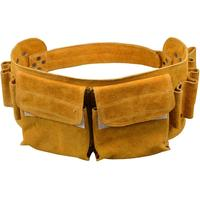 LanLan Exquisite Leather Repair Toolkit Garden Tool Bag Tool Holder Waist Bag for High Altitude Construction