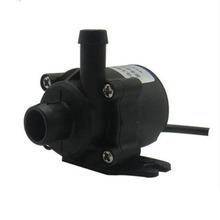 DC 12V 5W Micro Brushless Submersible Motor Water Pump 1.5-2M 350L/H Electric Water Circulation Pump for Aquarium Pond Ultraquit