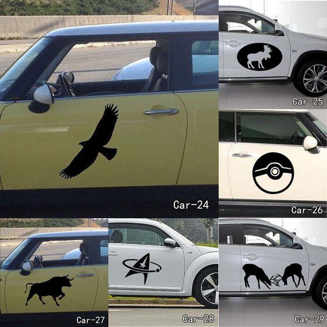 Aliexpresscom Buy Tongue Animals Eyes Vinyl Wall Sticker Home - How to make vinyl car decals at home