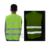 Venda quente Colete Refletivo com Fechamento de Velcro Projeto para Construção de Estradas & Atividades Ao Ar Livre Frete grátis