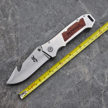 Top Quality Browning Hunting knife AAT11 Outdoor Camping tools Wood handle Tactical Survival Folding knives