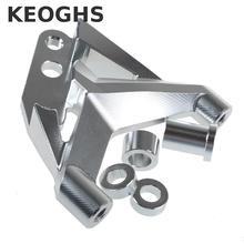 On sale Keoghs Motorcycle 100mm Brake Caliper Bracket/adapter Cnc Aluminum For Fastace Front Absorber For 220 260mm Brake Disc