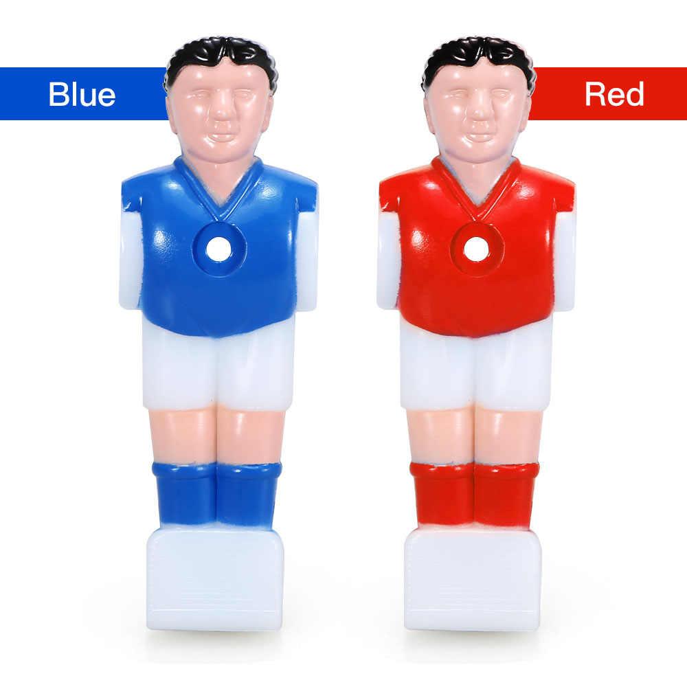 11 шт. 15,8 мм Калибр футбольные столы кукла настольный футбол машина кукла футбольные игры мини-кукла атлет футболист развлечения