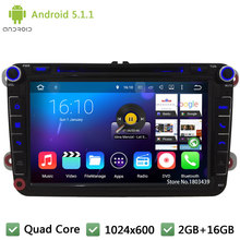 Quad core Android 5 1 1 8 Car DVD Player Stereo font b Radio b font