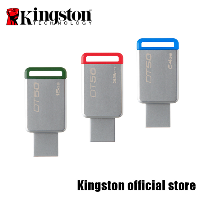 Kingston USB Flash Drives USB 3.1 DataTraveler 50 USB Flash Disk DT50-16G/32G/64G/128G