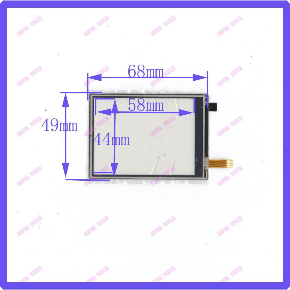 ZhiYuSun NEW  2.8 Inch Touch Screen 4 Wire Resistive USB Touch Panel Overlay Kit   68*49