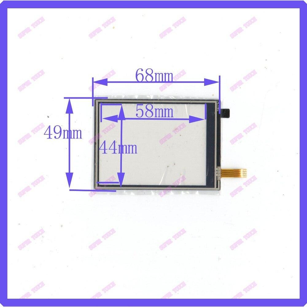 ZhiYuSun NAUJAS 2,8 colių jutiklinis ekranas 4 laidų varžos USB jutiklinio ekrano perdangos komplektas 68 * 49