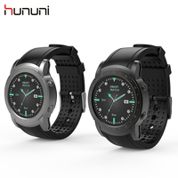 2018 Original Hununi Bluetooth Smart Watch with Heart Rate Monitor Blood Pressure Measurement WIFI GPS SIM Smartwatch Wristwatch
