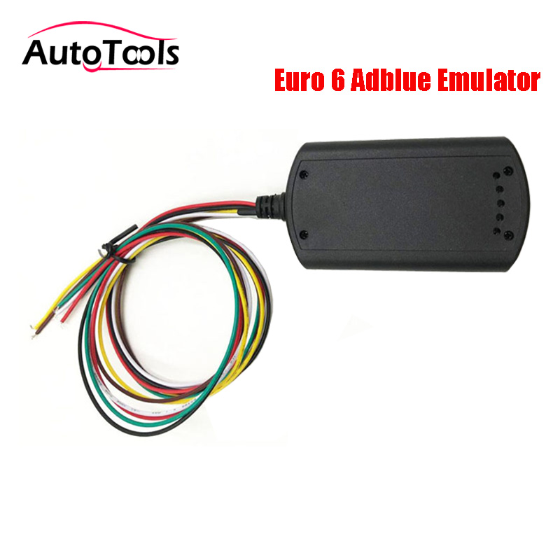 5pcs/lot Truck Adblueo emulator For Volvo/for scania Euro 6 Adblue emulator car Removal tool with NOX sensor Support DPF system 2017 newest truck adblue emulator 8 in 1 super quality for mercedes man iveco daf volvo renault and f ord adblue emulator 8 in 1