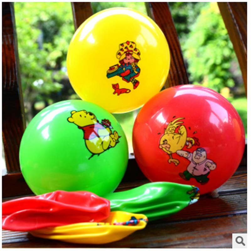 2017 New Design Inflatable Ball Bouncing ball Kids Pool Swimming Splash Play Party Water Game Toys Inflatable Cartoon Ball