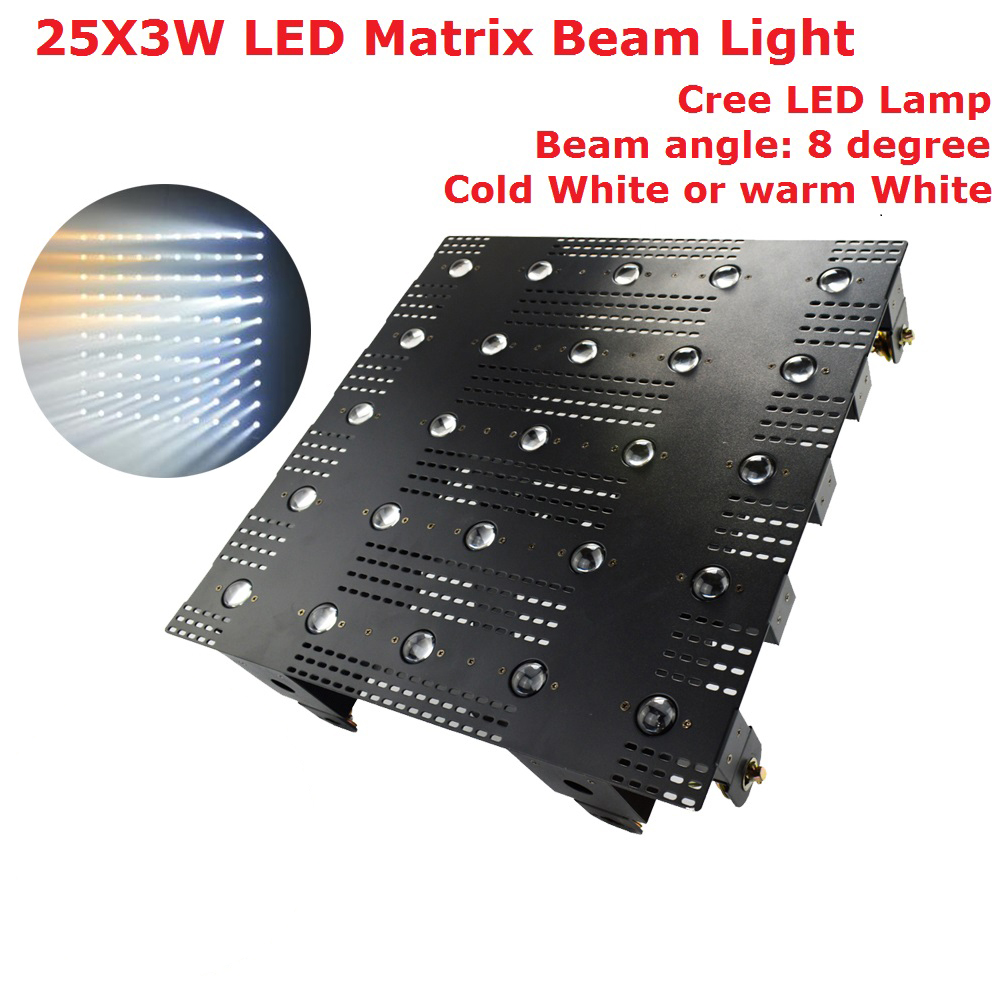 25X3W Professional Wall Washer Light High Power 80W LED Matrix Beam Lights 25 Eyes Cold White /Warm White Optional Wall Washer
