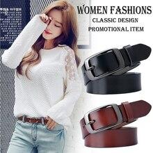 Дизайнер, модные женские ремни из натуральной кожи, брендовые ремни, женский пояс, Черные пряжки, Необычные винтажные ремни для джинсов