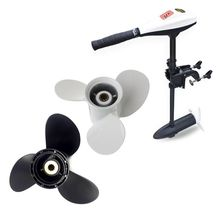 Aluminum Boat Outboard Propeller for Suzuki 9.9-15HP Black 3 Blades 10 Spline Tooth 9 1/4 x 11 oversee aluminum propeller 58100 91d00 019 size 9 1 4x8 for suzuki outboard motor motor 15hp dt15 9 1 4 x 8
