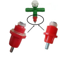 100PCS Spring Type Ball Chicken Waterer Nipple Drinkers With An Automatic Fine Workmanship