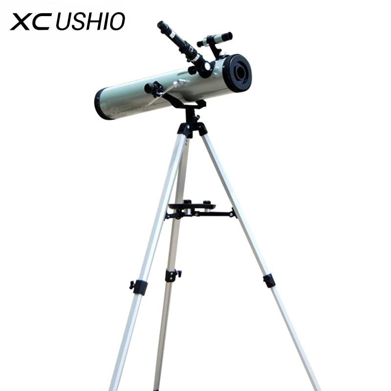 1 компл. большой апертурой 350 раз масштабирования Светоотражающие астрономический телескоп для пространство Celestial небесного тела наблюдени...