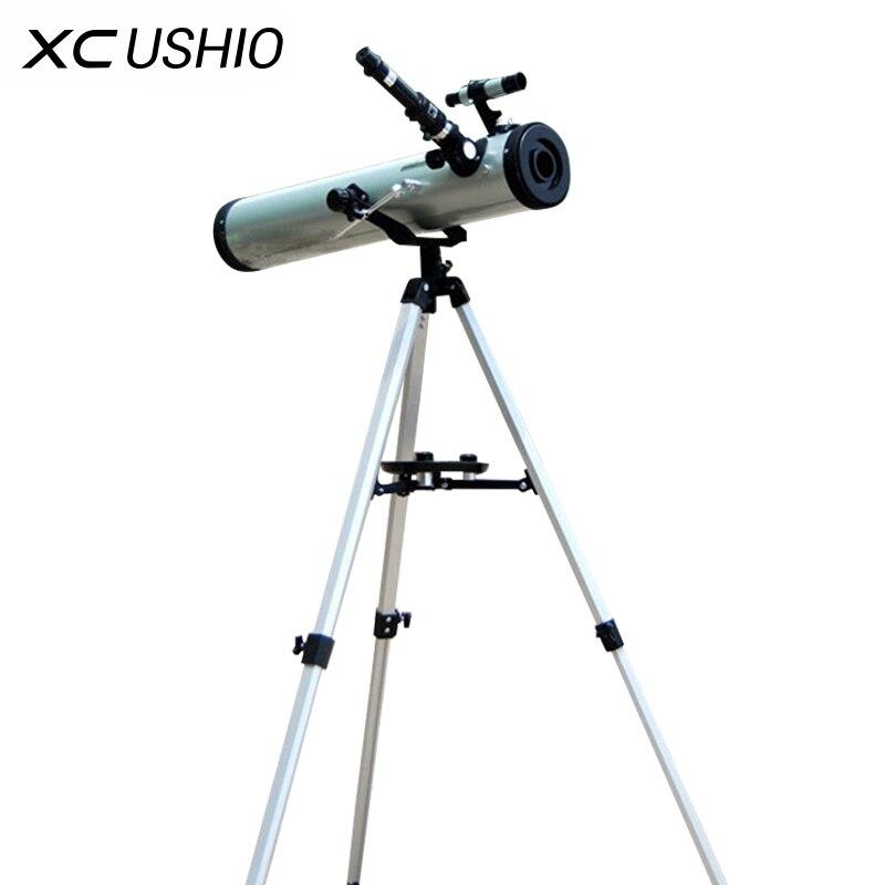 1 Set Große Blende 350 Mal Zoomen Reflektierende Astronomische Teleskop Für Raum Celestial Heavenly Körper Beobachtung F76700 Modische Muster Jagdoptik Sport & Unterhaltung