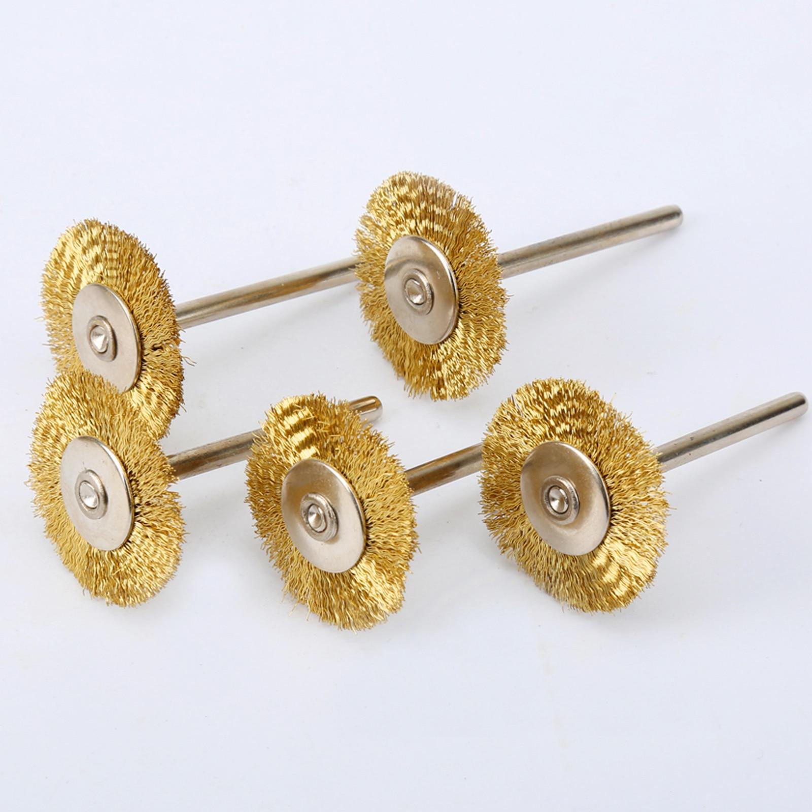 2.35mm Shank Drilling Sanding Grinding Polishing Mandrel Rotary Tool 5pcs