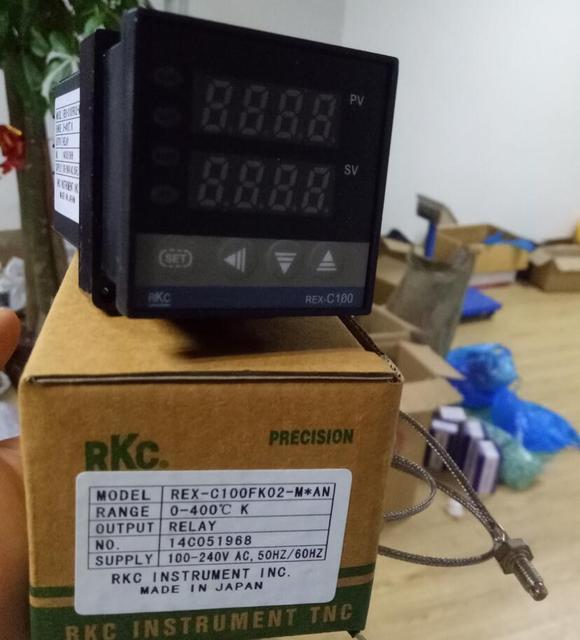 RKC Digital PID Temperature Controller multi range Input Relay