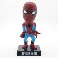 Karikatür örümcek adam süper hero aksiyon figürü bebek modeli noel hediyesi çocuk doğum günü hediyeleri için